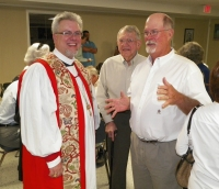 Bishop Doyle visits H.C.!
