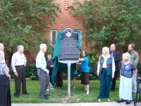 Unveiling HC's Texas Historical Marker!