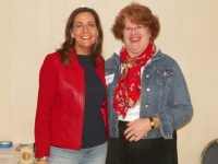 M. Carol with Core Values Workshop facilitator, Donna Gerold