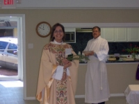 Blessing & dedication of the newly remodeled kitchen and parish hall