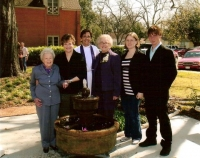 McDuff Family  at the Prayer Garden dedication